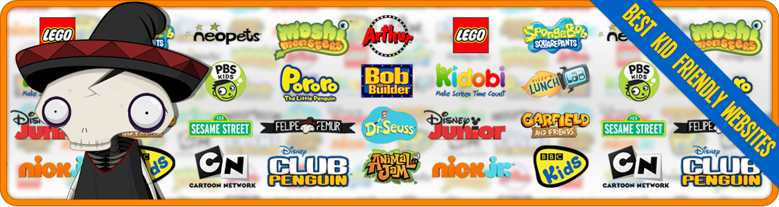 LIST OF THE BEST KID FRIENDLY WEBSITES