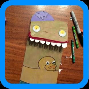 Gilli Fishel Paper Bag Puppet