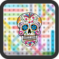 Day of The Dead Word Search (Hard)