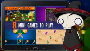 Felipe Femur & Friends 8 mini games