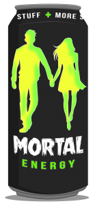 Mortal Energy™ Mortal Energy drink for the Monster in you