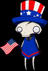 4th of July Felipe Femur (Uncle Sam)