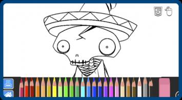Felipe Femur: Character Coloring Book
