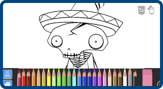 Browser Coloring Book