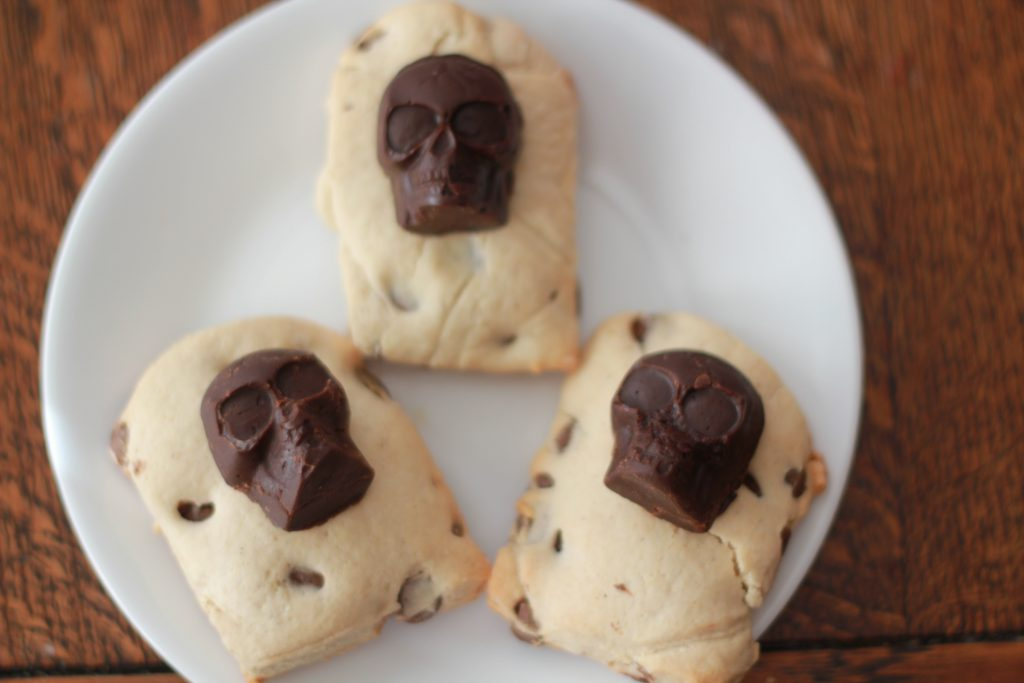 Halloween Tomb Scones