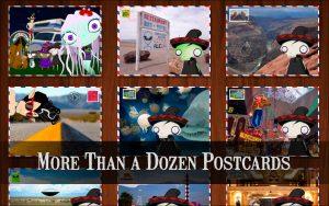 Felipe Femur Postcards #2