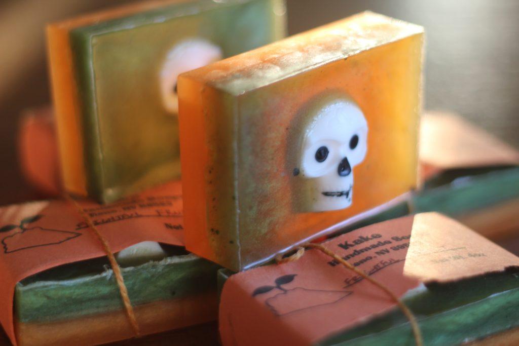 Frightful Fruit K.A.K.E. soap. KAKE Felipe Femur