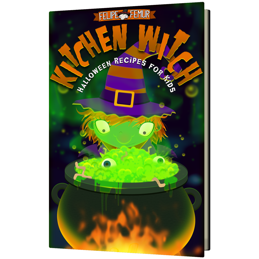 Kitchen Witch: Halloween Recipes for Kids Book