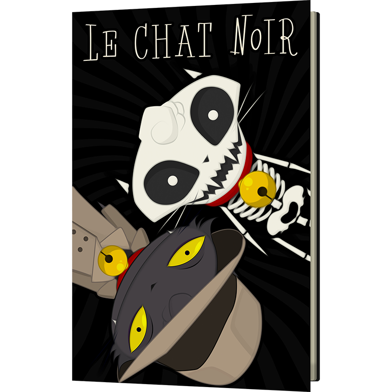 Le Chat Noir: Crooked World Book