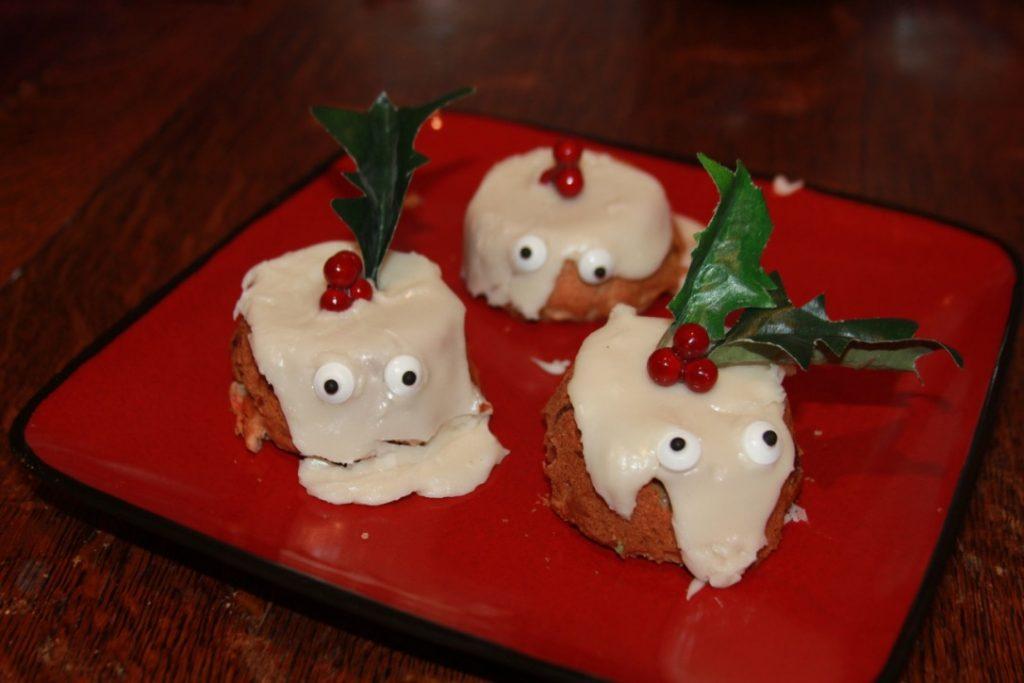 Combative Fruitcakes recipe cupcakes